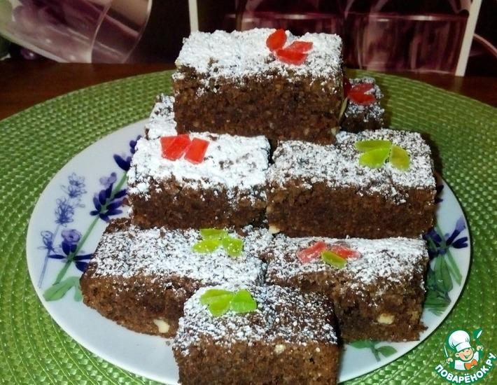 Рецепт: Пирожные Ореховое чудо