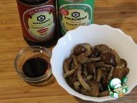 Праздничный сырно-грибной шар ингредиенты