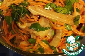 Рецепт: Свиные ушки по-корейски от этнического носителя