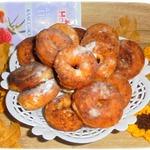 Творожно-миндальные пончики