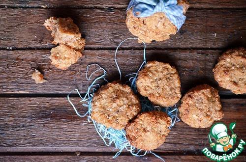 Рецепт Яблочное печенье с манкой