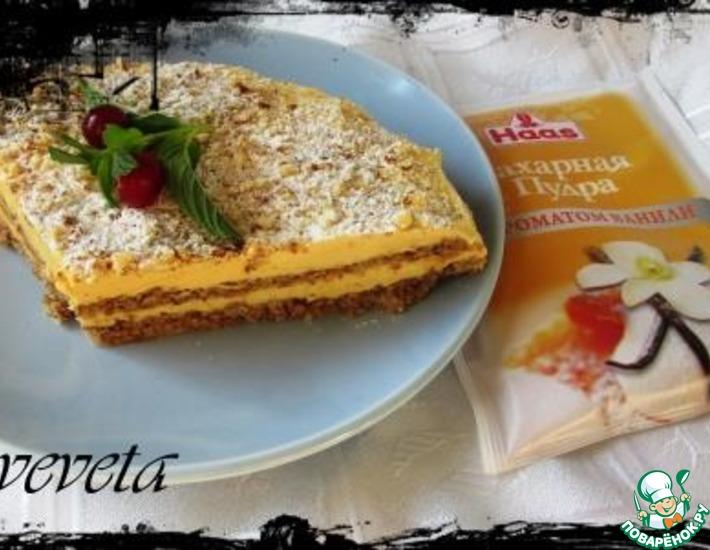 Рецепт: Миндальный торт из Икеи
