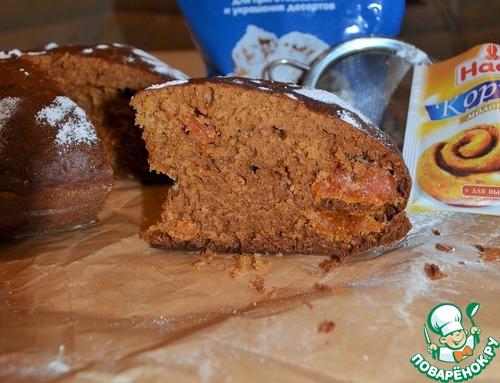 Рецепт Французский деревенский пирог с медом