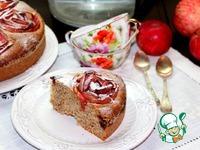 Миндальный пирог с яблоками и ежевикой ингредиенты