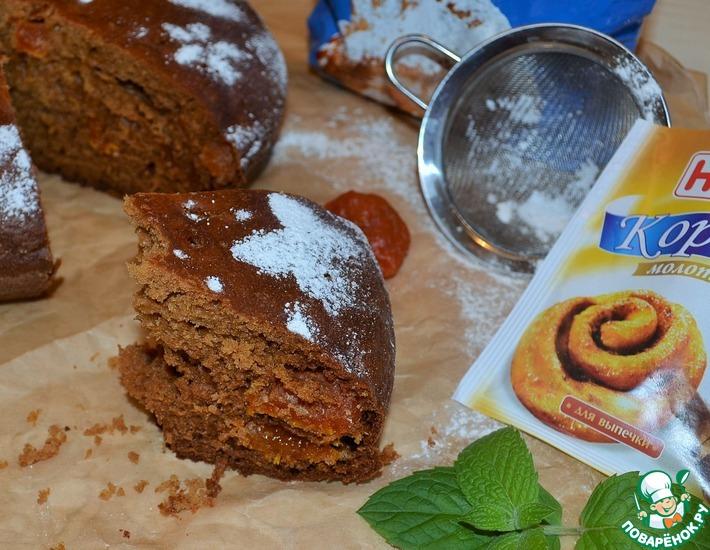 Рецепт: Французский деревенский пирог с медом