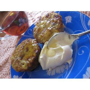 Десертные гречаники с творогом