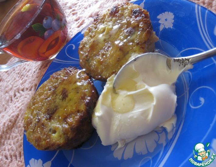 Рецепт: Десертные гречаники с творогом