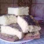 Кекс на кефире от мамы Наташи
