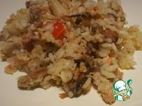 "Рецепт Рис с морепродуктами ""Как тепаньяки"""