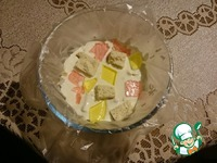 """Торт """"Калейдоскоп """" ингредиенты"""