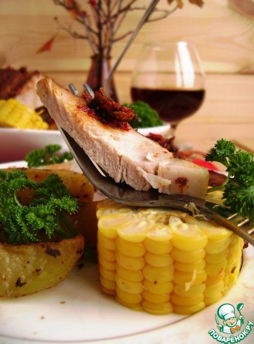 Рецепт Свинина, запеченная в перцовом маринаде