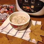 Молочная рисовая каша с киноа