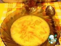 Суп из плавленного сырка ингредиенты