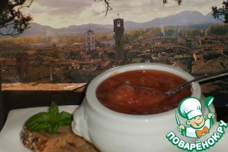 Рецепт: Полбовый суп из города Лукка