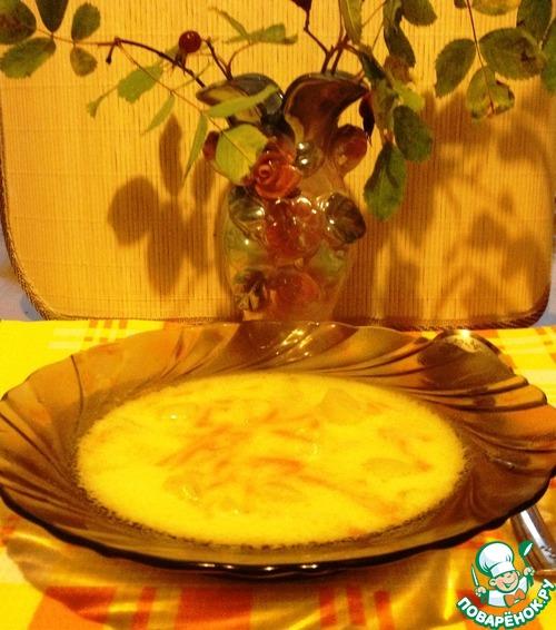 Рецепт Суп из плавленного сырка