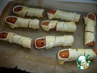Сосиски в тесте Мумии ингредиенты