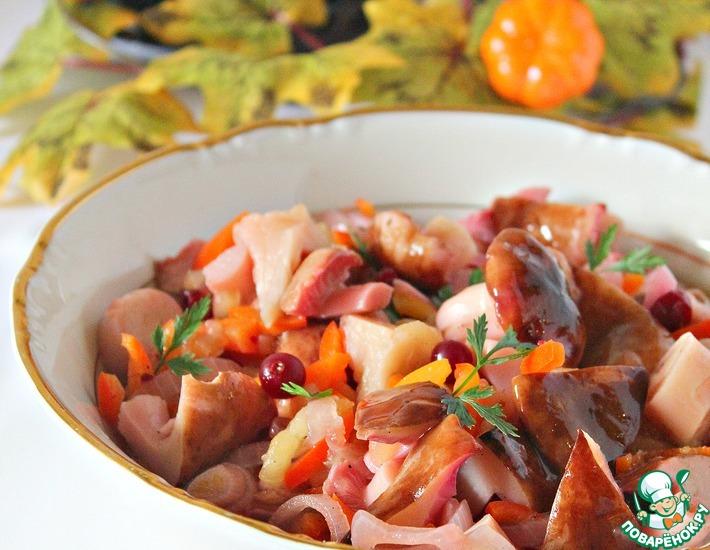 Овощные салаты осени