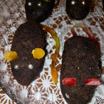 Пирожные Хэллоуинские мышки