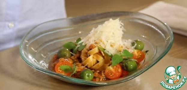 Рецепт Острая итальянская паста с тунцом