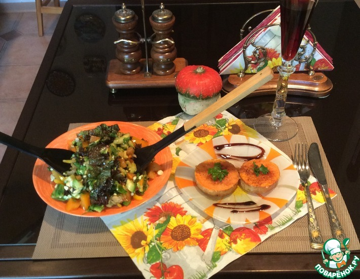 Рецепт: Салат Осенний пейзаж