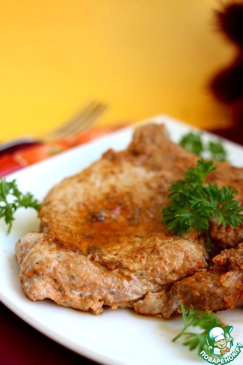 Рецепт Свинина в томатно-сливовом маринаде
