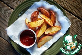 Рецепт: Жареный картофель за 10 минут