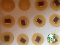 Песочное печенье с бананом и шоколадом ингредиенты