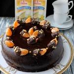 Шоколадный влажный торт