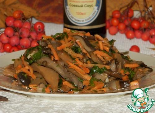 Рецепт Супер-быстрые маринованные грибы «Праздничные»