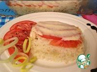 Рецепт Запеканка рисовая с помидорами