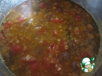 Суп с фасолью и чечевицей ингредиенты