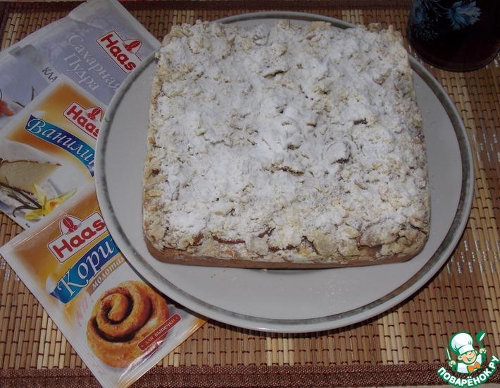 Рецепт: Пирог с грушей