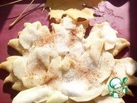 Песочный пирог Осенний лист ингредиенты