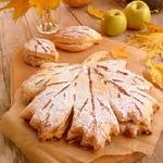 Песочный пирог Осенний лист