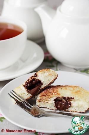 Рецепт Творожно-рисовые биточки с шоколадом