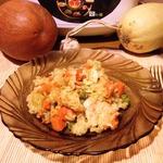 Карри из курицы с осенними овощами