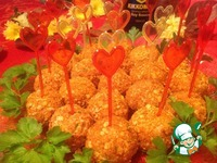 Рецепт Шарики из курицы с ананасом