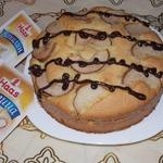 Датский пирог с грушей
