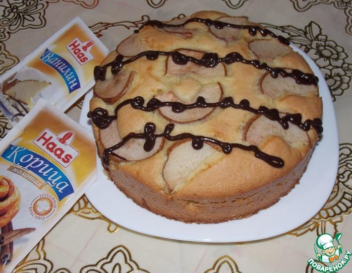 Рецепт: Датский пирог с грушей