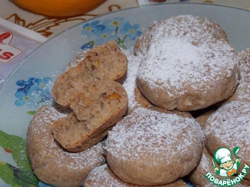 Рецепт Шоколадно-цитрусовое печенье
