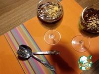 Пшенный десерт с манго и шоколадом ингредиенты