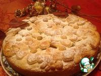 Рецепт Пирог яблочный с клубникой