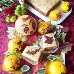 Тыквенное пирожное с грецким орехом