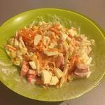 Салат крабовый с корейской морковкой