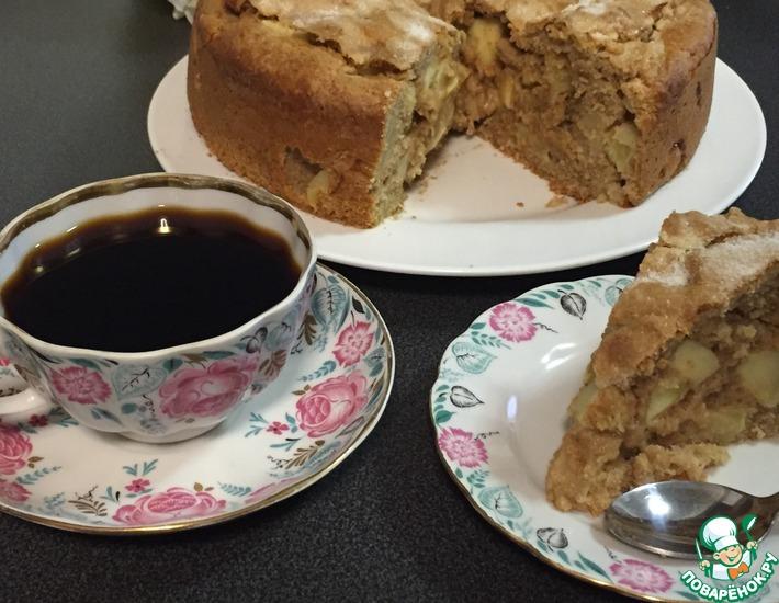Рецепт: Ирландский яблочный пирог