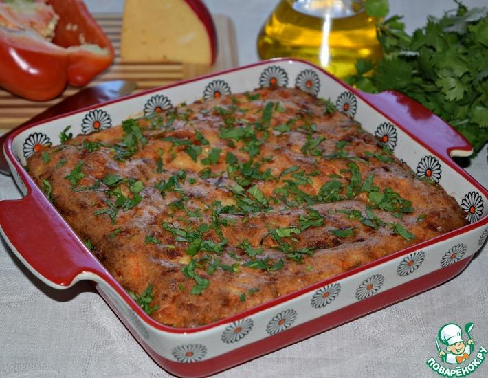 Рецепт: Сырный пирог Золотая осень