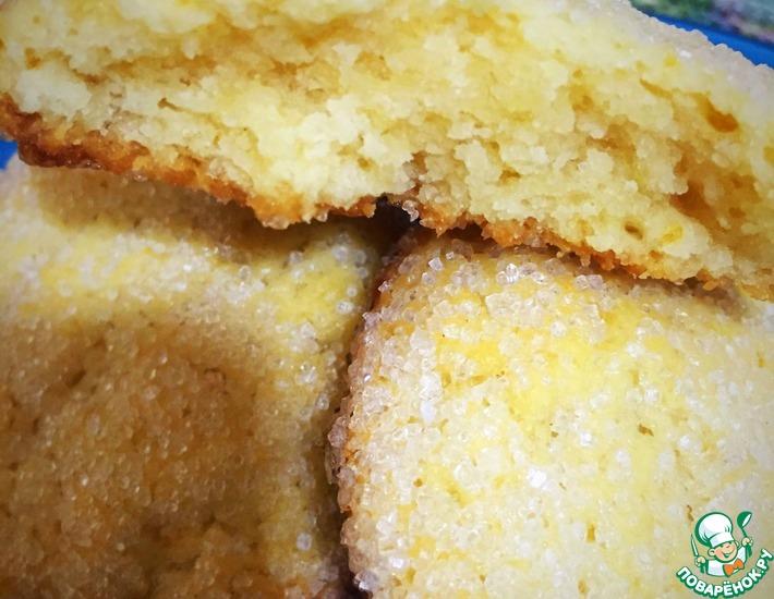 """Сахарное печенье """"Малышки"""" с ванилью"""