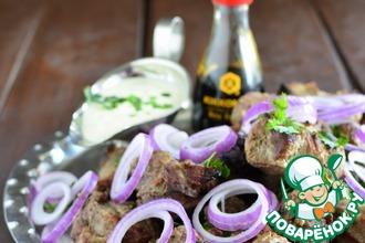 Рецепт: Маринад для говядины и соус