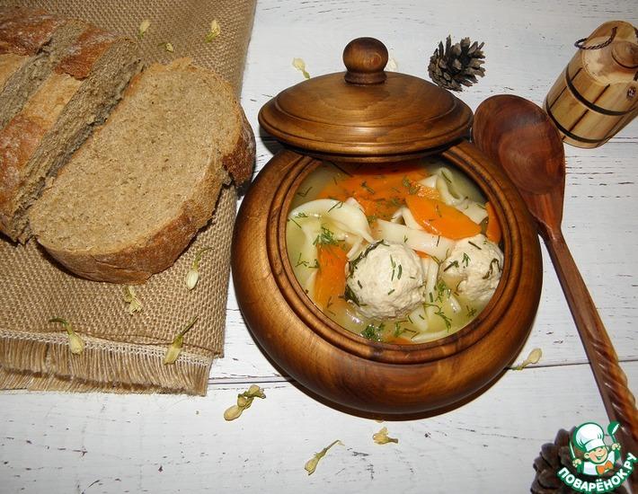 Рецепт: Куриный суп Огра-ош