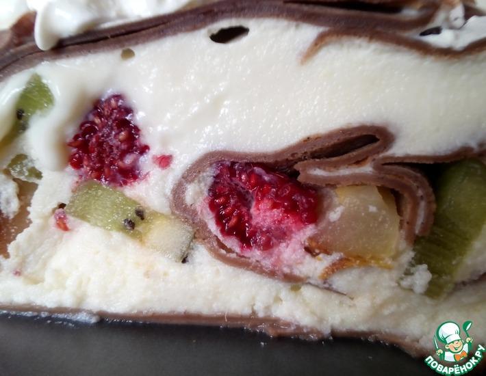 Рецепт: Оригинальный блинный торт